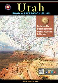 Map Of Nevada And Utah by Utah Road U0026 Recreation Atlas U2014 Benchmark Maps