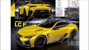 lexus f series yellow lexus lcf review youtube