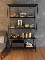 Room And Board Bookcase Slim Modern Natural Steel Bookcases Murphy Custom 81