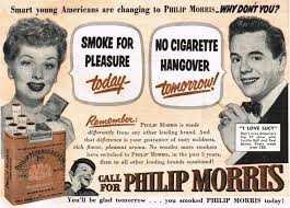 philip morris ad with lucille ball and desi arnaz 1952 desilu