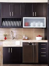 Contemporary Kitchen Backsplash by The Elegant Abode Contemporary Kitchen Design With Frosted Glass