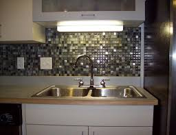 white countertop backsplash kitchen ideas wall wooden shelf on