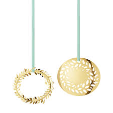 gold plated christmas ornaments christmas collectibles