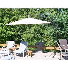 Threshold Offset Patio Umbrella Replacement Umbrella Canopy Garden Winds