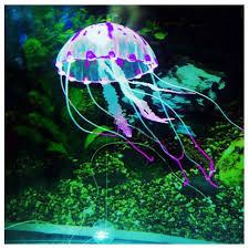 aliexpress buy glowing effect artificial jellyfish fish tank