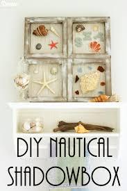 diy nautical home decor diy nautical decor beach themed shadowboxes