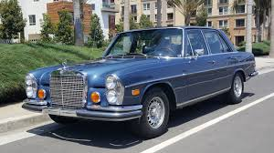1973 mercedes benz 280se 4 5 german cars for sale blog