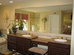 large bathroom mirrors ideas bathroom cool large bathroom mirror ideas with floating vanity