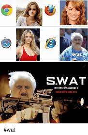 Memes Wat - wat swat in theaters august 8 even cops dial 911 wat meme on sizzle