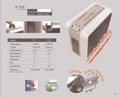 biosystem paper shredder cross cut v10 u2013 the stationery shop