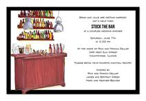 stock the bar invitations stock the bar wedding shower invitations by invitationconsultants