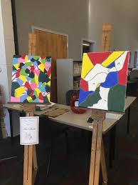 davis center student art exhibit on display today at santa fe