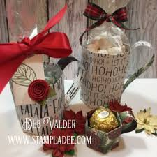 gift mugs with candy mini paper mugs 12 days of gift giving day 3 with deb valder deb