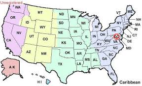 map showing time zones in usa state of idaho location and facts