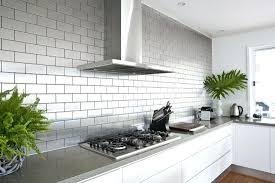 metal wall tiles kitchen backsplash stainless steel wall tiles backsplash metallic subway tile home