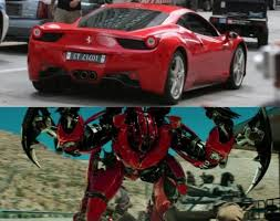 ferrari transformer me and my car form by autobotmirage dino on deviantart