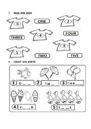 english worksheets the numbers worksheets page 120