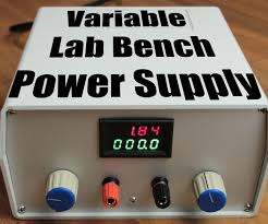 build your own variable lab bench power supply 4 steps with