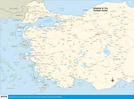 Bosphorus Strait Map Istanbul Map Europe Thefreebiedepot