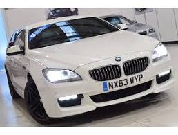 bmw 6 series for sale uk white bmw 6 series gran coupe used cars for sale on auto trader uk