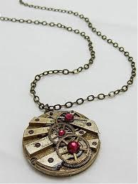 steampunk necklace vintage images Steampunk pendant time lock steampunk necklace steampunk jpeg