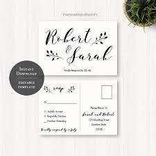 wedding rsvps 25 best wedding postcard ideas on wedding save the