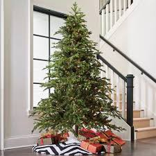 artificial christmas tree majestic fraser fir artificial christmas tree grandin road