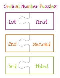 free ordinal numbers worksheets u0026 printables