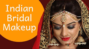 bridal makeup contemporary indian bridal look