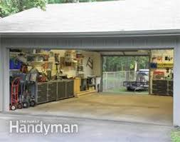 making garage building plans family handyman