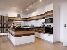 Exotic Wood Kitchen Cabinets Kitchen Style Chimney Mounted On White Ceiling And Exotic Wood