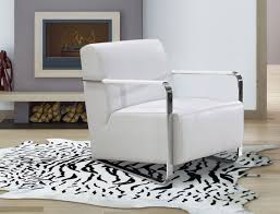 White Lounge Chair Design Ideas Modern White Leather Low Profile Lounge Chair Sacramento
