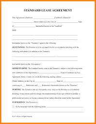 Free Residential Lease Agreement Templates Best Simple Lease Agreement Photos Office Worker Resume Sample