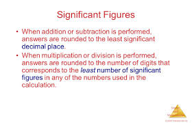 Calculations Significant Figures Worksheet Answers Chapter 1 Introduction Matter And Measurement Ppt