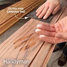 Homemade Wood Stain Learn To Make Natural Stain At Home by Finishing Wood Trim With Stain And Varnish Family Handyman
