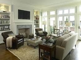 Living Room Furniture Arrangement With Fireplace Furniture Living Room Decorating Ideas On A Budget