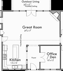 great room floor plans portland oregon house plans one house plans great room