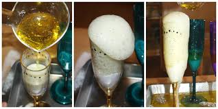 new years activity baking soda science experiment
