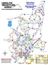 Adventure Map Carolina Adventure World