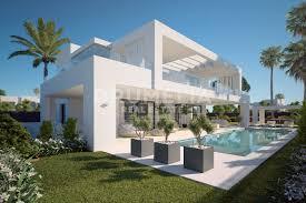 new modern contemporary style villa in los olivos nueva andalucia