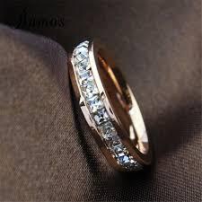 fashion wedding rings images Geometric design women fashion wedding ring rose gold ring jpeg