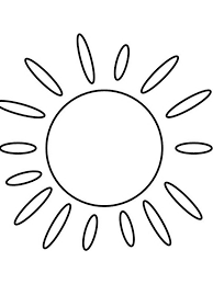 oval coloring page sun coloring pages download and print sun coloring pages