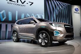 subaru viziv interior 2017 subaru viziv 7 suv concept review top speed
