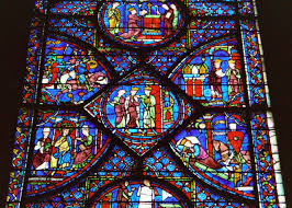stained glass window stained glass windows of chartres cathedral