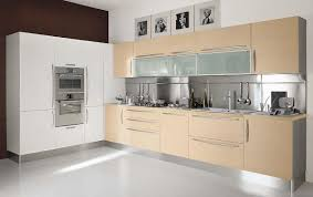 furniture modern kitchen design with elegant innermost cabinets