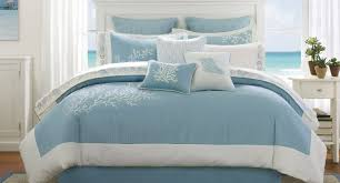 bedding set amazing white and blue bedding details about 5pc