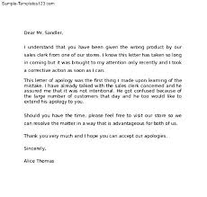 apology letter example sample apology letter to teacher sample