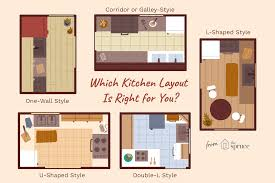 design layout for kitchen cabinets 5 classic kitchen design layouts