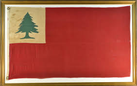 British Flag During Revolutionary War Antique Bunker Hill Flag 1876 Revolutionary War Flag
