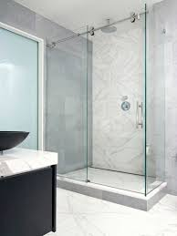 Frameless Shower Sliding Glass Doors Sliding Frameless Shower Doors Best Home Furniture Ideas